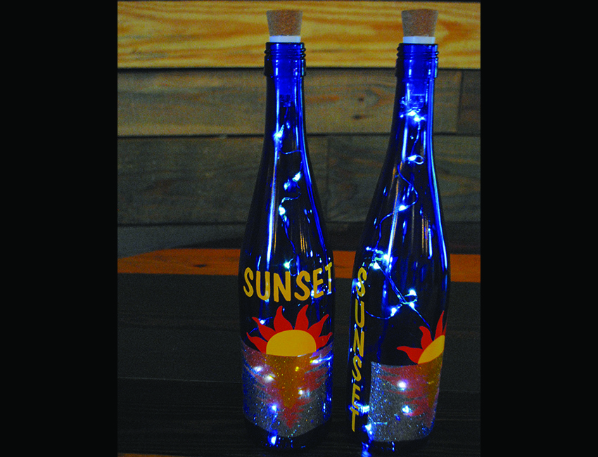 Craft Night At Salted Vines Sunsets Amp Sangria Lighted